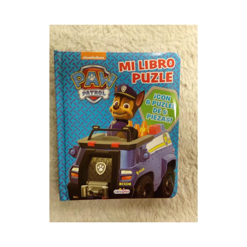Libro puzzle Patrulla. Segunda mano