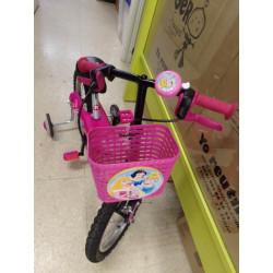 """Bicicleta 14 """" b-twin rosa"""