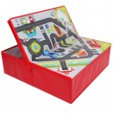 Circuito de coches y caja de almacenamiento 2 en 1 SEGUNDA MANO