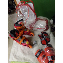 Patines y protectores cars