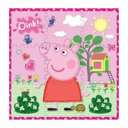 Puzzle de suelo Peppa pig