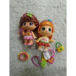2 Muñecas Pin y Pon con...
