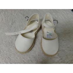 Zapato esparto T23