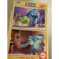 2 Puzzles Monstruos S.A.