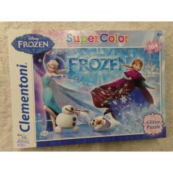 Puzzle Frozen Glitter....