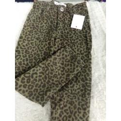 Pantalon zara leopardo 5 años