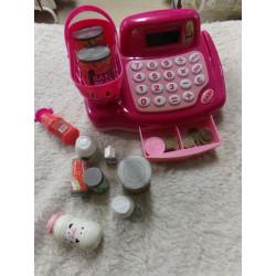 Caja registradora Barbie....