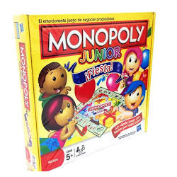 Monopoly Junior fiesta....