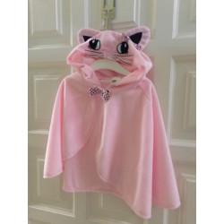 Capa de gatito rosa....