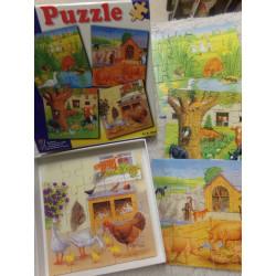4 Puzzles. Segunda mano