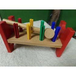 Banco de madera. Ikea....