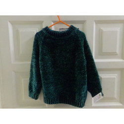 Jersey verde de Zara talla...