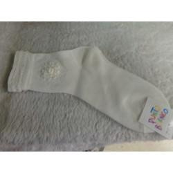 Calcetines color crudo talla 6