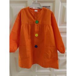Mandilón naranja T60 - 5 años