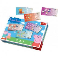 Puzzle Peppa Pig Los Numeros