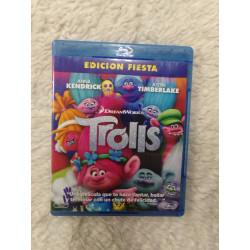 DVD Trolls. Segunda mano