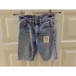 Pantalón corto levis 5 años