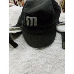 Gorra de pana 50 cm