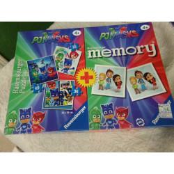 Puzzle y juego de memoria....