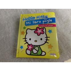 Libro puzzle Hello Kitty....