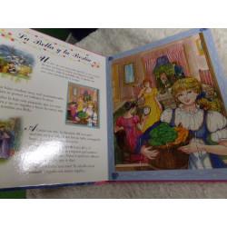 Libro puzzle de princesas....