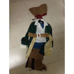 Disfraz corsario 7-8 años