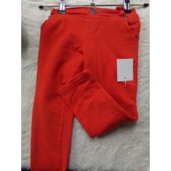Pantalon elastico rojo 3 años