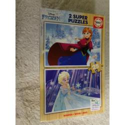 2 puzzles Frozen