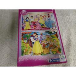 2 Puzzles de Disney....