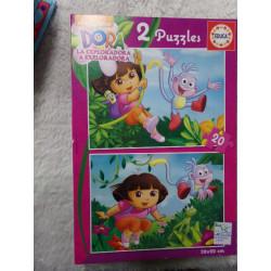 2 Puzzles de Dora. Segunda...