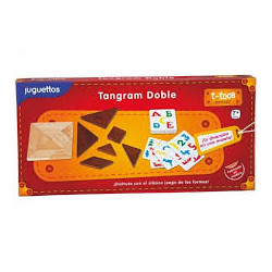Tangram doble. Juguettos.