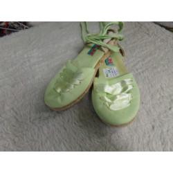Alpargatas verdes N 31....