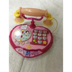 Teléfono Disney con sonido....