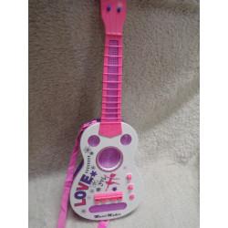 Guitarra luces y sonido....