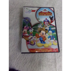 DVD La casa de Mickey....