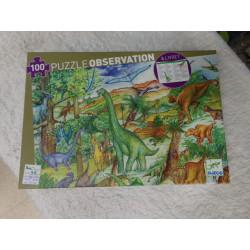 Puzzle dinosaurios 100...