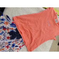 Conjunto falda y camiseta...