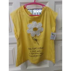 Camiseta amarilla talla 7...