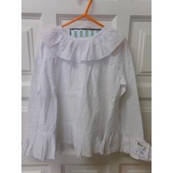 Blusa blanca. talla 7 años....