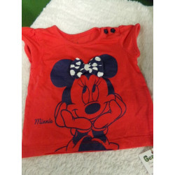 Camiseta Minnie 9 meses