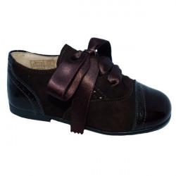 Zapatos de piel ante y...