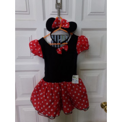 Disfraz Minnie 4-5 años