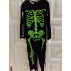 Disfraz esqueleto Talla 4-6...