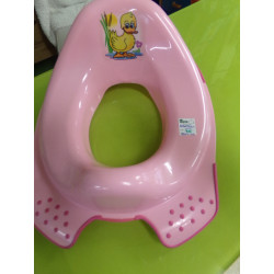 adaptador de baño rosa....