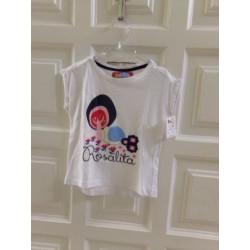 Camiseta Rosalita. Talla 3...