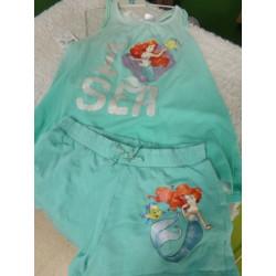 Pijama princesa Ariel 6-8 años
