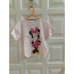 Camiseta Minnie. Talla 2-3...