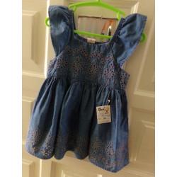Vestido Baby Gap talla...