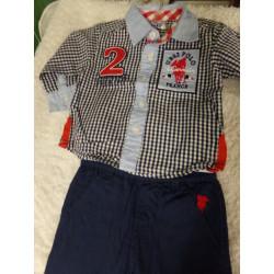 Pantalón y camisa talla 3...