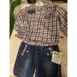 Pantalón y camisa talla 6...